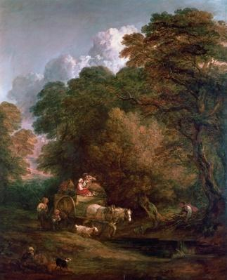 The Market Cart, 1786
