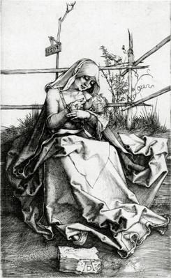 Virgin and Child seated on a grass bench, 1503