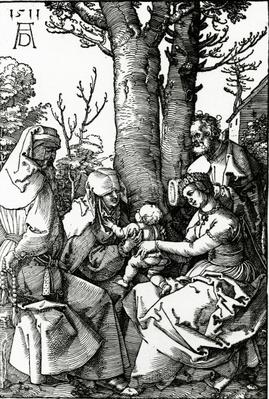 The Holy Family with St. Anne and St. Joachim, 1511