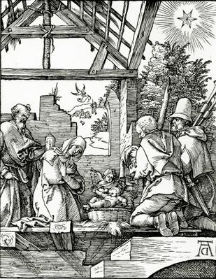 Nativity, from the Small Passion, 1510