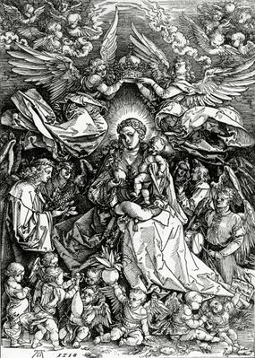 The Coronation of the Virgin and Child, 1518
