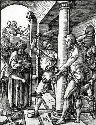 The Flagellation of Christ, from The Small Passion series, 1509
