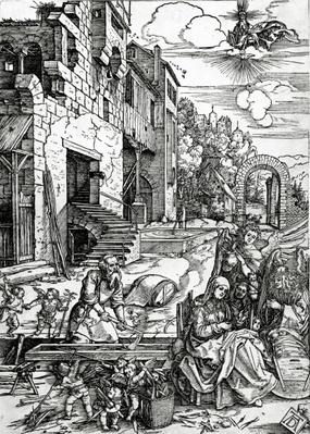 The Rest on the Flight into Egypt, from the 'Life of the Virgin' series, 1511