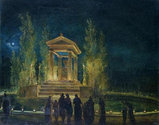 The Cenotaph of Jean Jacques Rousseau
