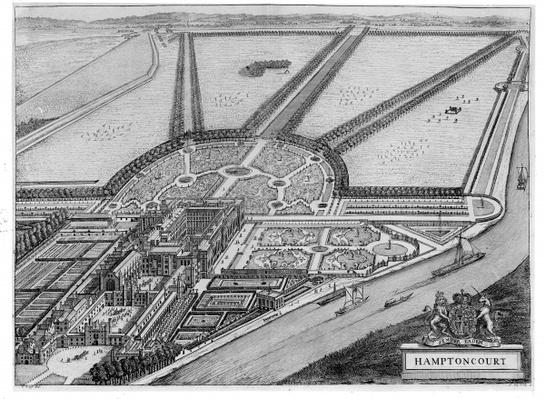 Hampton Court Palace, c.1714-16