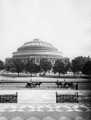 The Royal Albert Hall, London, c.1880's