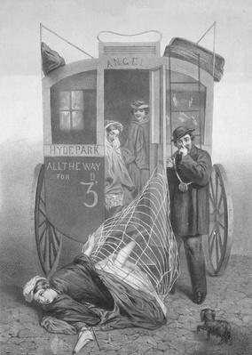 Perils of the Crinoline, 1850-70