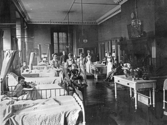 St. Bart's Hospital, The Pitcairn Ward