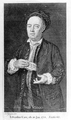 Edward Cave, printed 1754