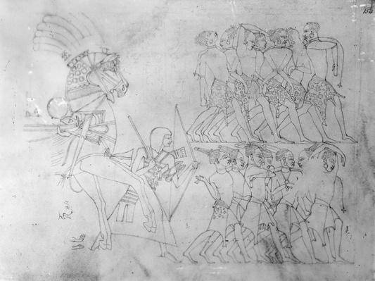 Detail of an Egyptian Frieze, 1824-1832