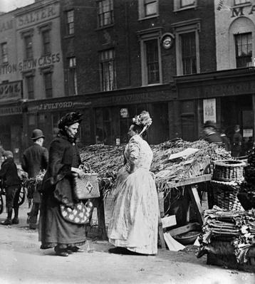 Victorian Market Scene