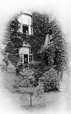 "Summer at ""The Pines"", Swinburne's home at Putney, c.1900-09"