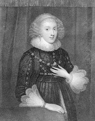Mary Sidney, Countess of Pembroke, engraved by W.J.Fry