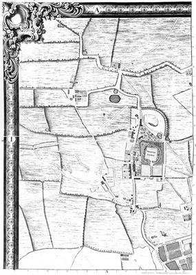 A map of Marylebone, 1746
