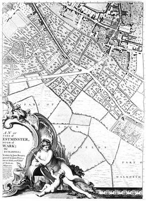 A Map of Camberwell, London, 1746