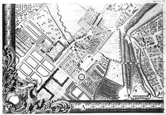 A Map of Chelsea, 1746