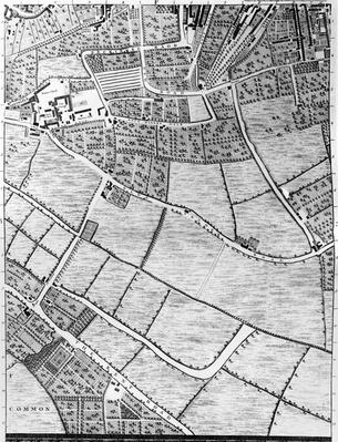 A Map of Bermondsey, London, 1746