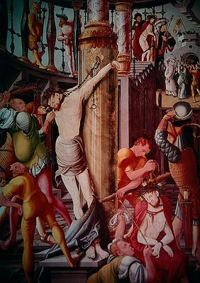 The Mocking of Christ, from the Herrenberg Altarpiece, 1521