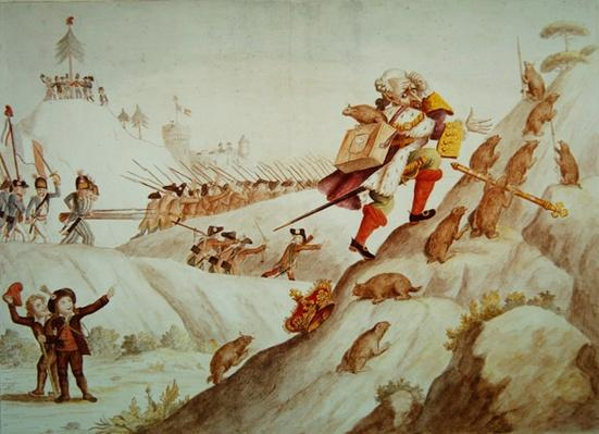 The Great Migration of the King of Marmots, 1792