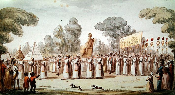 View of a Revolutionary Procession