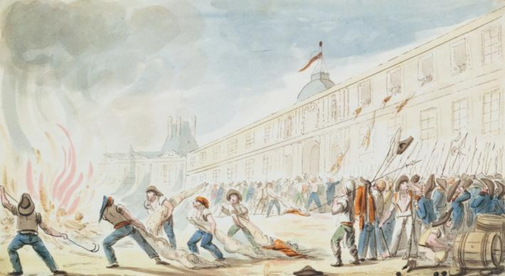 The Taking of the Tuileries, 10th August 1792
