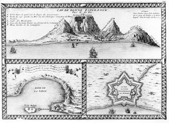 Cap de Bonne Esperance, 1705