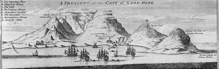 A Prospect of the Cape of Good Hope