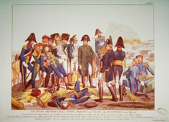 The Death of Marshal Duroc at the battle of Bautzen, 22nd May 1813