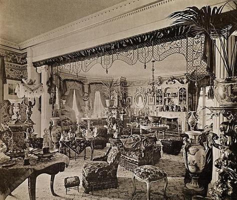 The Drawing Room, Wickham Hall, Kent, 1897