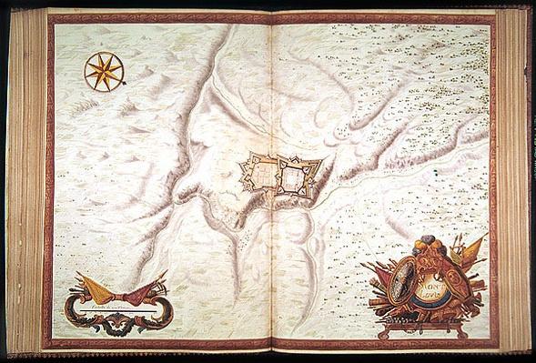A Plan of Mont-Louis, from 'Atlas de Louis XIV', 1665