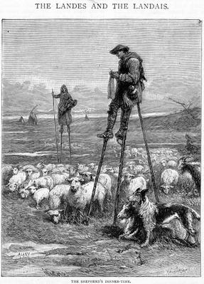 The Shepherd's Dinner-time, engraved by Charles Butterworth
