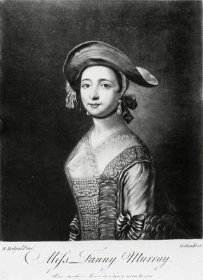 Miss Fanny Murray, engraved by Corbutt