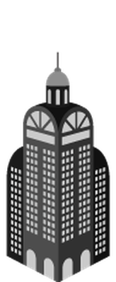 Skyscrapers in Perspective  - 1 of 8 | Clipart
