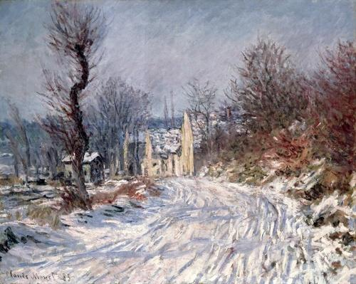 The Road to Giverny, Winter, 1885