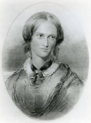 Charlotte Bronte, engraved by James Charles Armytage, c.1850