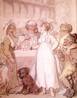 A Gin Shop, c.1808-09