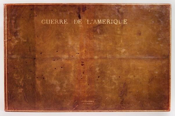 Front cover of the atlas 'Guerre de l'Amerique 1775-1782'