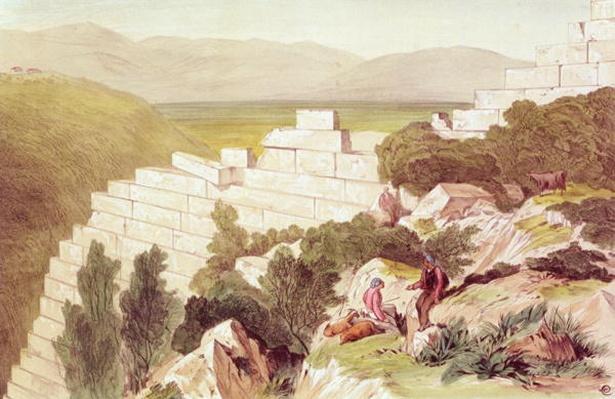 Walls of Ancient Samos, Cephalonia, 19th century