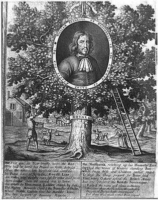 William Pendrill and the Boscobel Oak, c.1700
