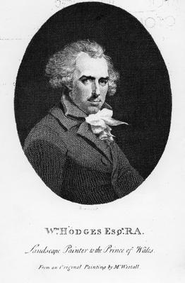 William Hodges RA, engraved by Fitzgerald Thornthwaite, published in 'The Literary Magazine', 1792