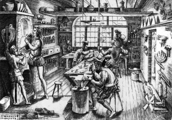Goldsmith's Workshop, 1576