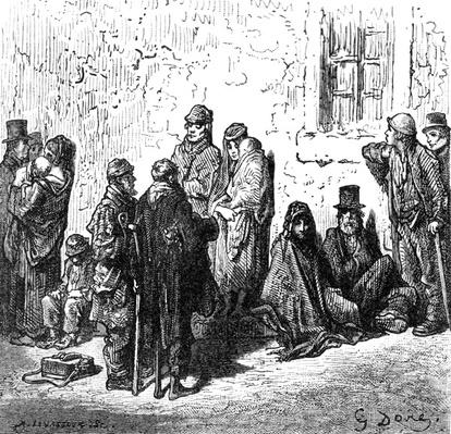 Les Miserables, from 'London, A Pilgrimage' by William Blanchard Jerrold, 1872