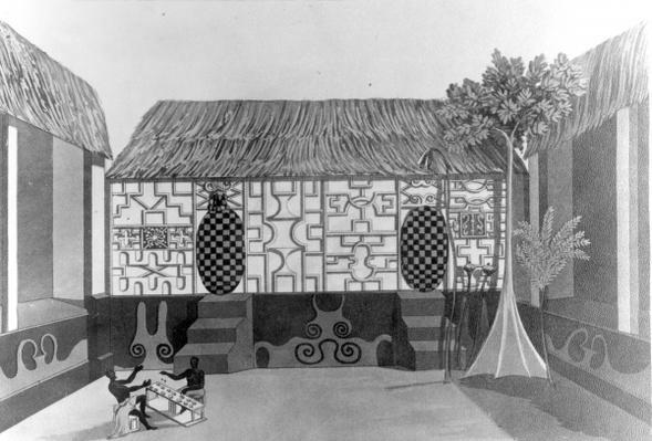 The King's Sleeping Room, 1817