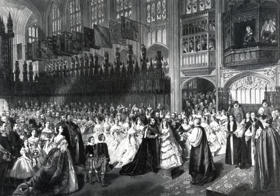 The Marriage of the Prince of Wales on 10th March 1863