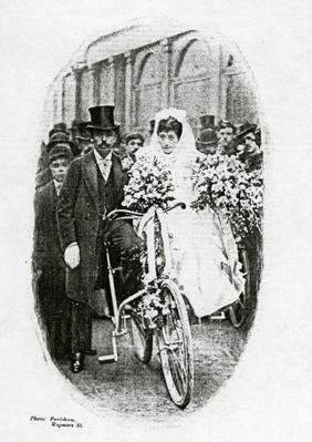 A Bicycle Wedding