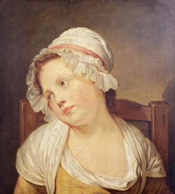 Young Girl in a White Bonnet