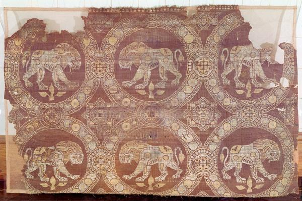 Fabric from the tomb of St. Julian, 3rd-5th century