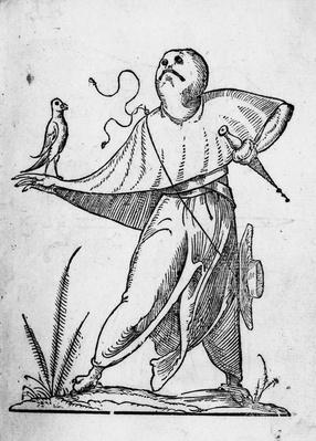 Illustration from 'The Humorous Dreams of Pantagruel' by Francois Desprez, published 1565