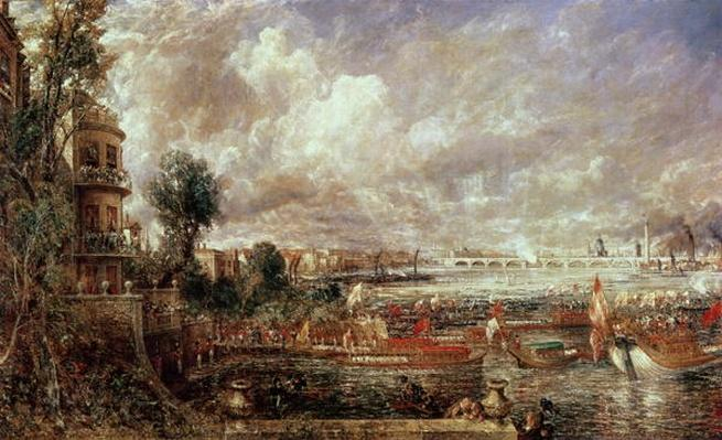 The Opening of Waterloo Bridge, Whitehall Stairs, 18th June 1817
