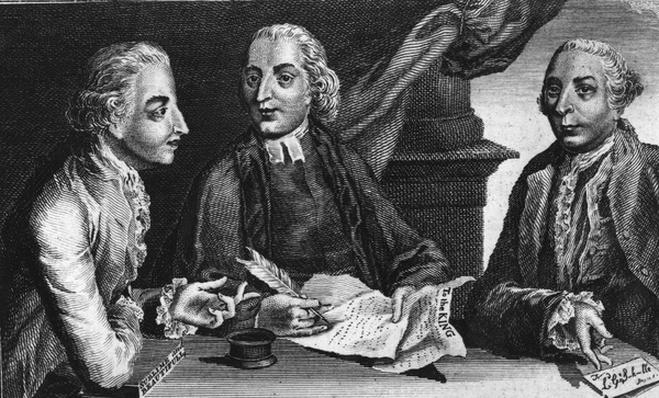 Junius, 1769